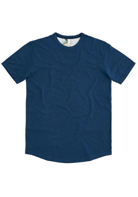 T-SHIRT CON LOGO SUN68 | T-shirt | T3010812BLUE