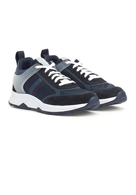 SNEAKERS PREMIUM RUNNER CORPORATE TOMMY HILFIGER | Sneakers | FM0FM02579DW5DESERTSKY