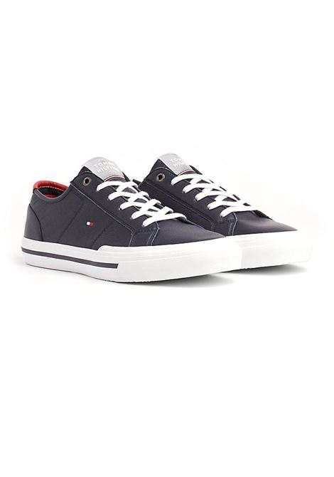 SNEAKERS TH CORE CORPORATE FLAG TOMMY HILFIGER | Sneakers | FM0FM02593DW5DESERTSKY