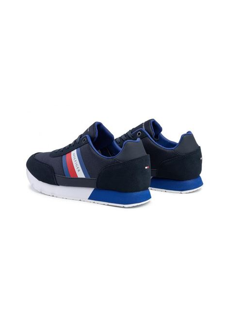 SNEAKERS CORPORATE MIX DI TEXTURE TOMMY HILFIGER | Sneakers | FM0FM02601DW5DESERTSKY