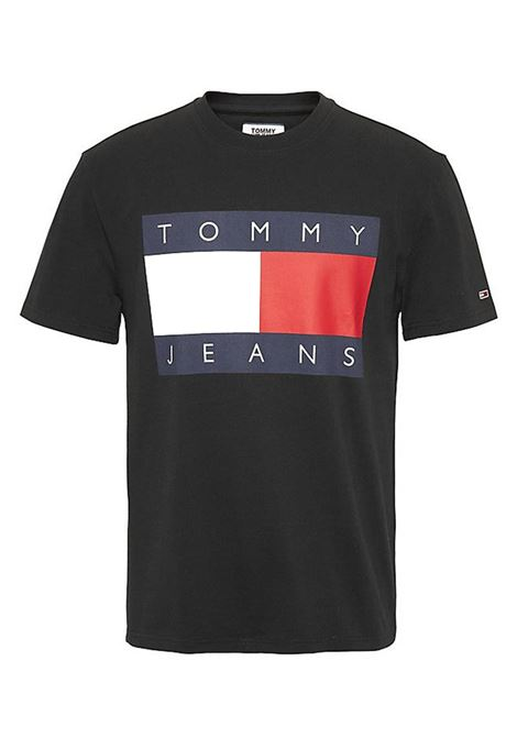 TOMMY JEANS |  | DM0DM07009CBKBLACKIRIS