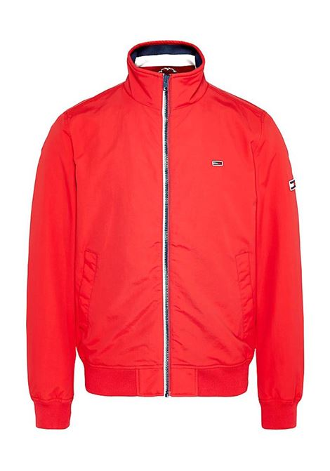 BOMBER ESSENTIAL TOMMY JEANS | Bomber | DM0DM07366XA9RACINGRED