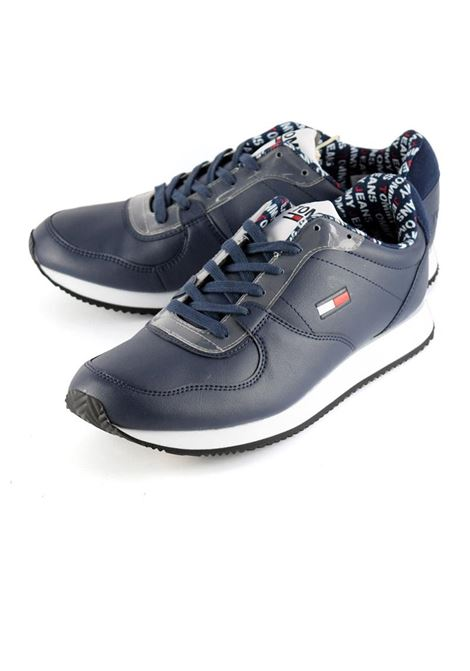 SNEAKERS CASUAL TOMMY JEANS TOMMY SPORT | Sneakers | EM0EM00372CBKBLACKIRIS