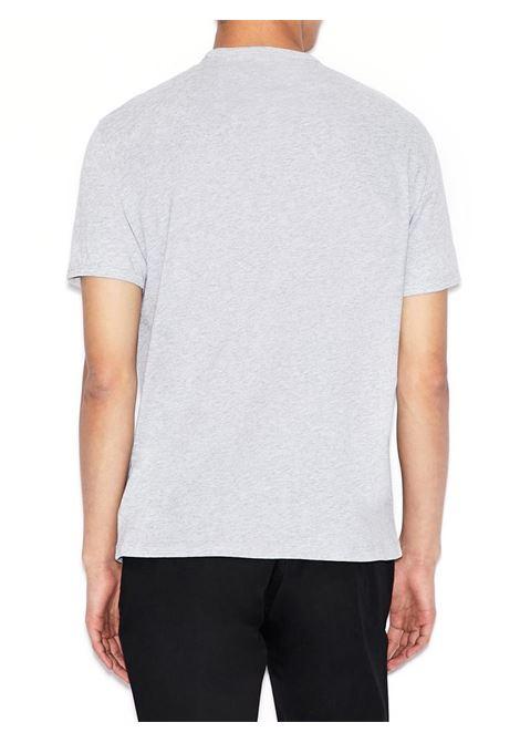 T-SHIRT CON LOGO TONO SU TONO AX ARMANI EXCHANGE | T-shirt | 8NZTCDZ8H4Z3929GRY