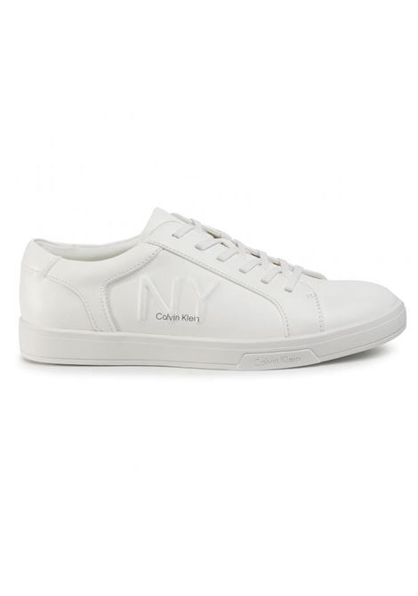 SNEAKERS BOONE LOW TOP LACE UP CALVIN KLEIN | Sneakers | B4F2075100WHITE
