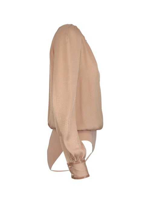 BODY IN CREPE MISTO SETA ELISABETTA FRANCHI | Body | CB00607E2614PHARD