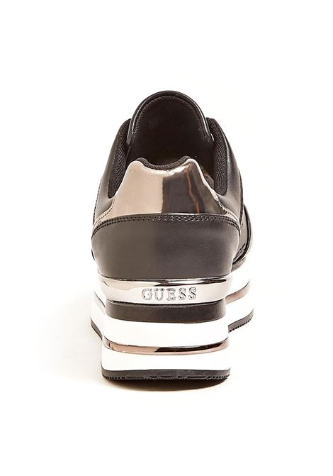 RUNNER DAFNE SIMIL PELLE GUESS | Sneakers | FL7DFEFAL12BLACK