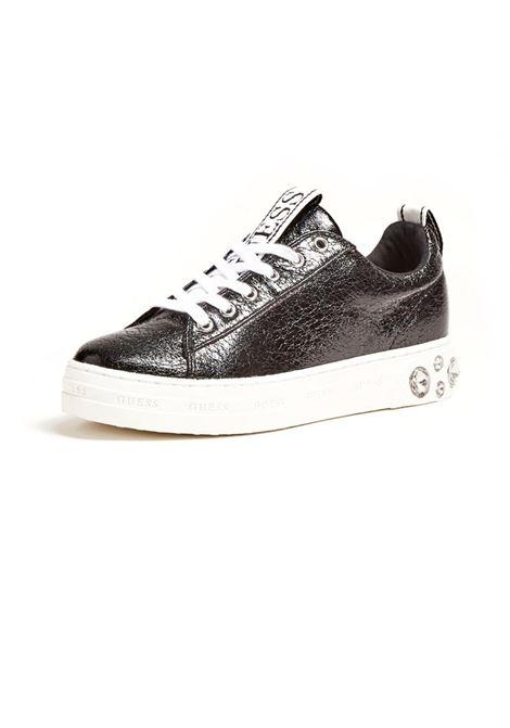 SNEAKER RIVET APPLICAZIONI GUESS | Sneakers | FL7RITLEL12BLACK