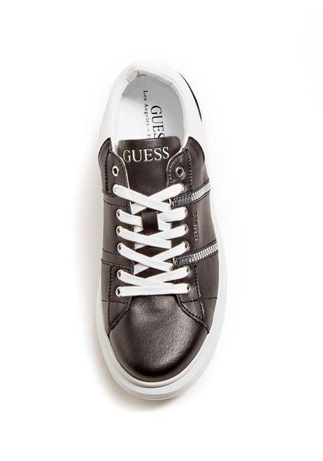 SNEAKER SALERNO VERA PELLE GUESS | Sneakers | FM7SAILEA12BLACK