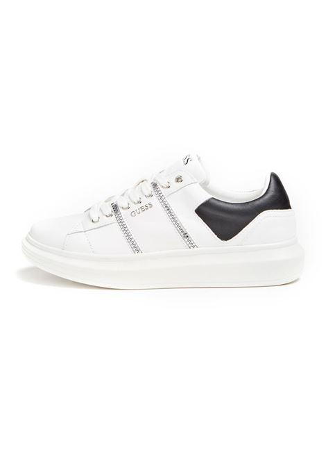 SNEAKER SALERNO VERA PELLE GUESS | Sneakers | FM7SAILEA12WHITE