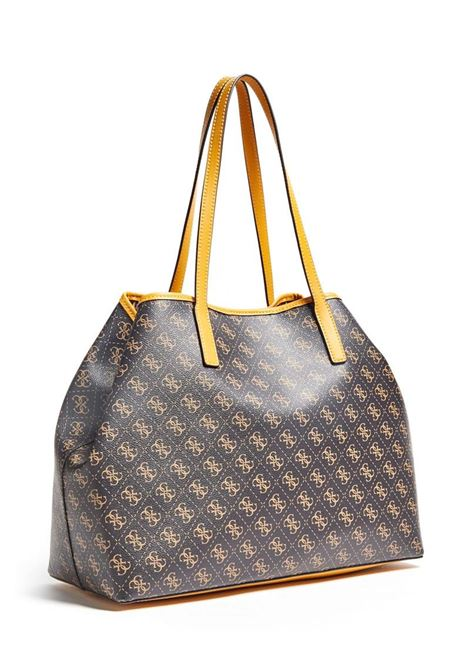 SHOPPER VIKKY MAXI LOGO 4G GUESS | Borsa | HWSS6995240BROWN