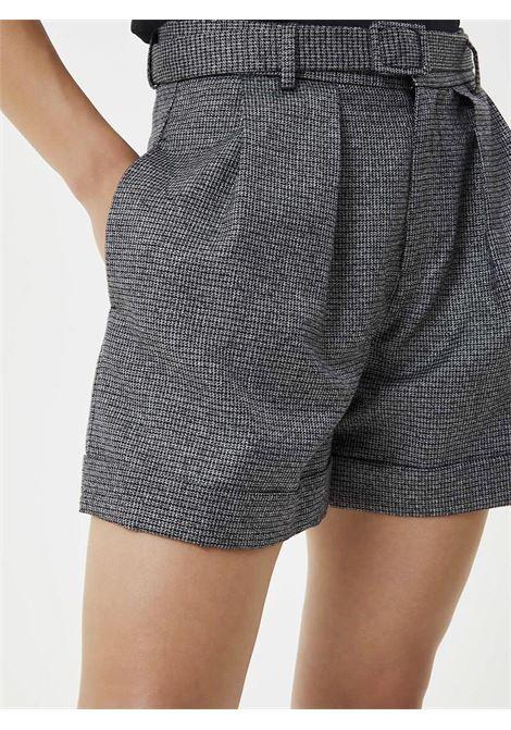 SHORT CON CINTURA LIU JO JEANS | Shorts | WF0205T4523T9175GRIGIONEROLUX