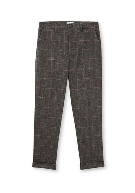 PANTALONE CROPPED LIU JO JEANS | Pantalone | WF0463T4523T9151CHECKCAFFENERO