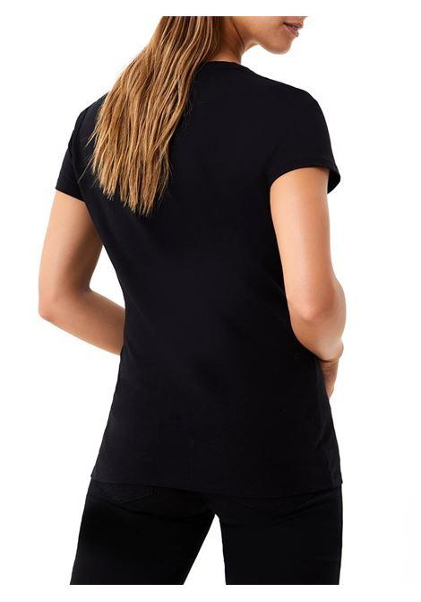 T-SHIRT CON STAMPA LIU JO SPORT | T-shirt | TF0219J5972T9202NERO