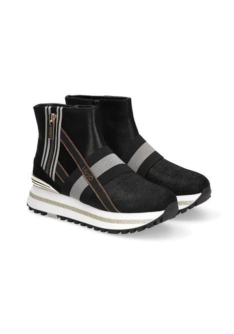SNEAKERS MAXI 14 LIU JO | Sneakers | BF0081PX05622222NERO