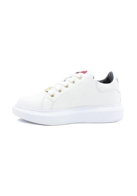 SNEAKERS CUORE LOVE MOSCHINO | Sneakers | JA15494G0BJA0100VITBIANCO