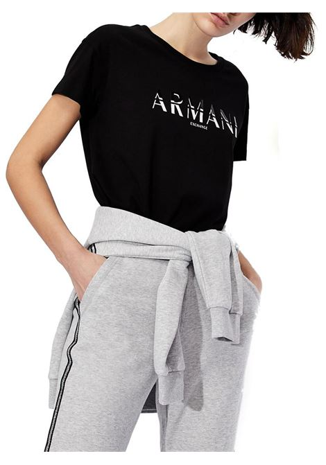 T-SHIRT BOYFRIEND FIT AX ARMANI EXCHANGE | T-shirt | 3KYTGDYJG3Z1200BLACK