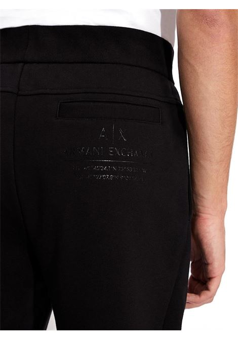 PANTALONI SPORTIVI AX ARMANI EXCHANGE | Pantalone | 3KZPFEZJ9FZ1200BLACK