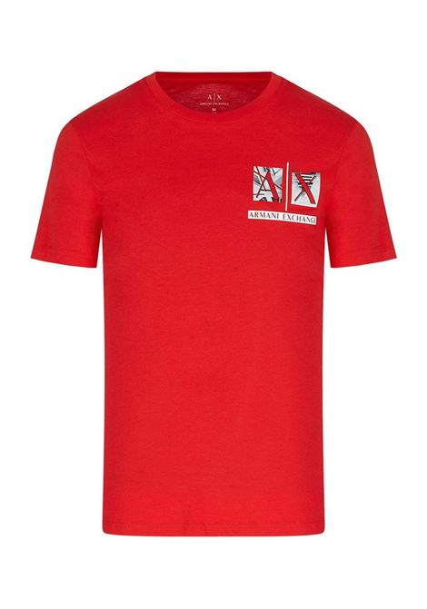 T-SHIRT SLIM FIT AX ARMANI EXCHANGE | T-shirt | 3KZTAAZJA5Z1400ABSOLUTERED