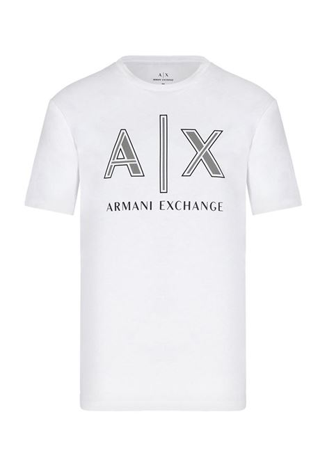 T-SHIRT REGULAR FIT AX ARMANI EXCHANGE | T-shirt | 3KZTAFZJ4JZ1100BIANCO