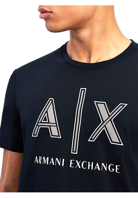 T-SHIRT REGULAR FIT AX ARMANI EXCHANGE | T-shirt | 3KZTAFZJ4JZ1510NAVY