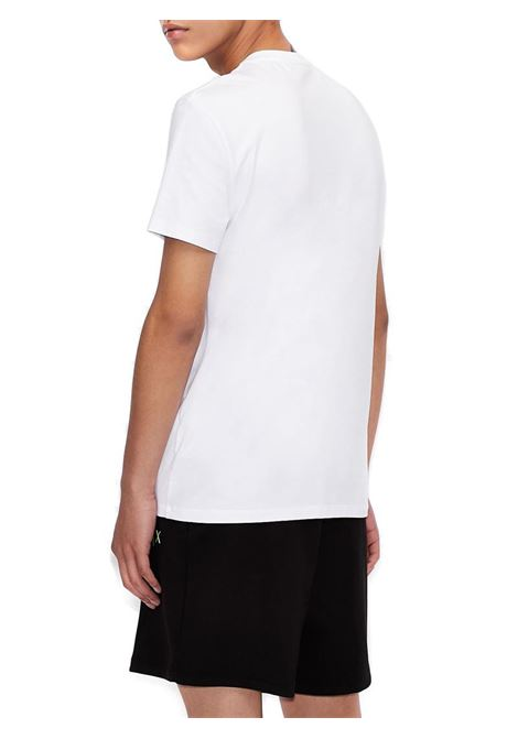 T-SHIRT SLIM FIT AX ARMANI EXCHANGE | T-shirt | 3KZTFLZJEAZ1100BIANCO