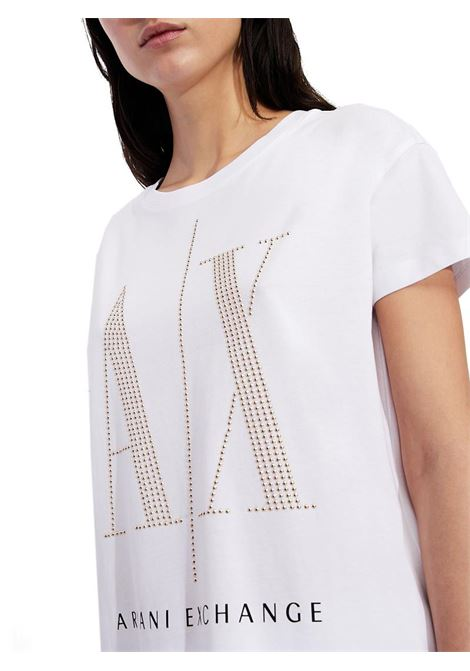 T-SHIRT ICON PERIOD AX ARMANI EXCHANGE | T-shirt | 8NYTDXYJG3Z9130WHITESTUDS