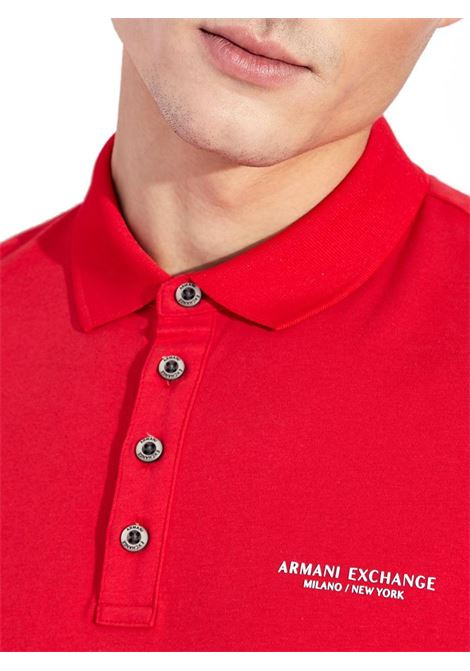 POLO CON LOGO AX ARMANI EXCHANGE | Polo | 8NZF80Z8H4Z1400ABSOLUTERED