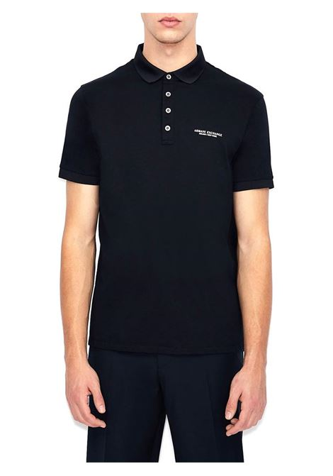 POLO CON LOGO AX ARMANI EXCHANGE | Polo | 8NZF80Z8H4Z1510NAVY