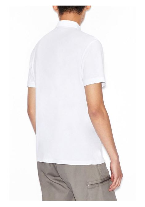 POLO ICON PERIODO AX ARMANI EXCHANGE | Polo | 8NZFPAZ8M5Z1100BIANCO
