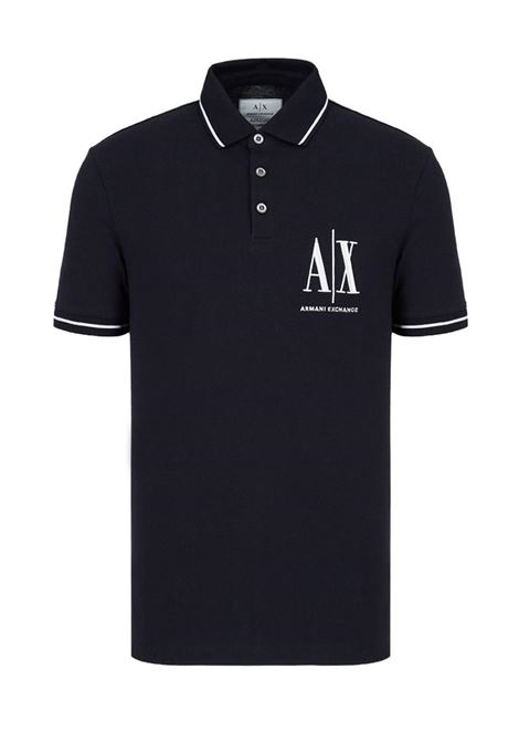 POLO ICON PERIODO AX ARMANI EXCHANGE | Polo | 8NZFPAZ8M5Z1510NAVY