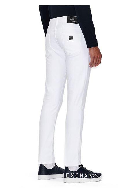 JEANS SKINNY AX ARMANI EXCHANGE | Pantalone | 8NZJ14Z1A1Z1100BIANCO