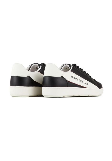 SNEAKERS IN PELLE AX ARMANI EXCHANGE | Sneakers | XUX082XV262K568NAVYWHITE