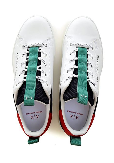 SNEAKERS CON LACCI AX ARMANI EXCHANGE | Sneakers | XUX096XV291K512WHITEMULTICOLOR