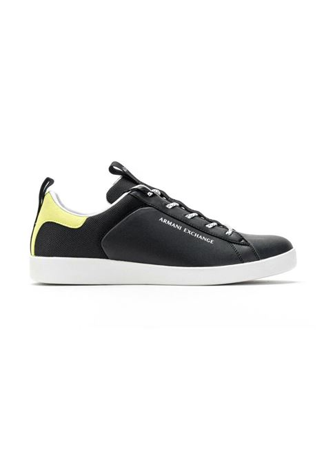SNEAKERS CON LACCI AX ARMANI EXCHANGE | Sneakers | XUX096XV291K527BLACKLIME