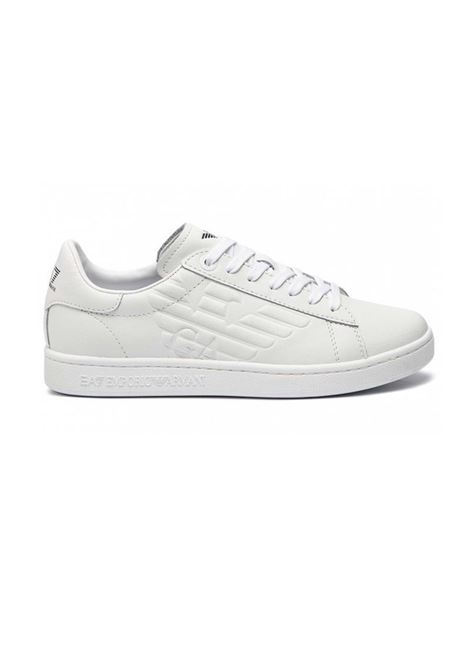 SNEAKERS CC CON LOGO IN RILIEVO E.A. 7 | Sneakers | X8X001XCC5100001WHITE