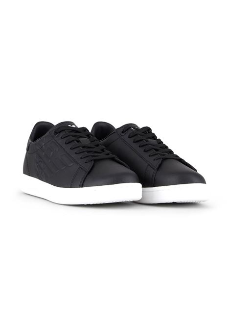 SNEAKERS CC CON LOGO IN RILIEVO E.A. 7 | Sneakers | X8X001XCC5100002BLACK