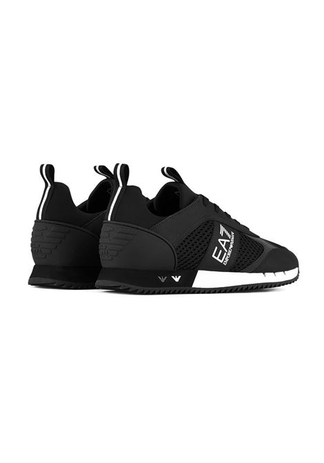SNEAKERS BLACK&WHITE IN MESH E.A. 7 | Sneakers | X8X027XK050A120BLACKWHITE