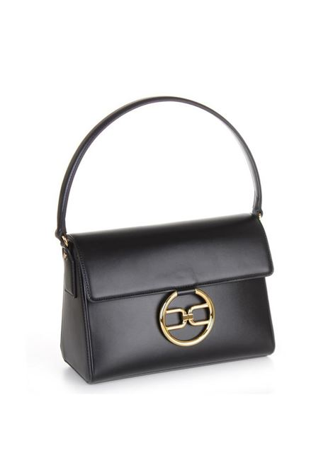 MEDIUM BAG CON RING LOGO ELISABETTA FRANCHI | Borsa | BS03A11E2110NERO