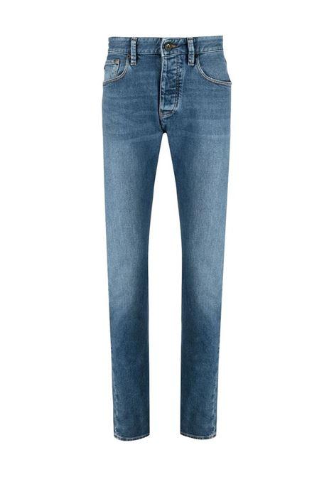 PANTALONE 5 TASCHE EMPORIO ARMANI | Jeans | 3K1J061NWYZ0920BLUNAVY