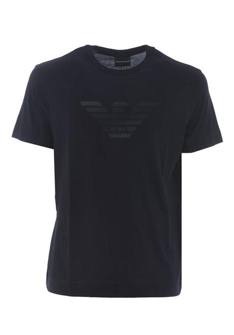 T-SHIRT IN COTONE EMPORIO ARMANI | T-shirt | 3K1TE61JSHZ0920BLUNAVY
