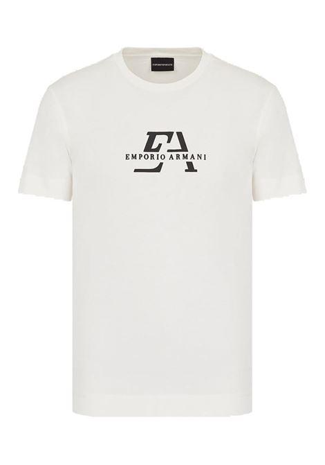 T-SHIRT IN JERSEY EMPORIO ARMANI | T-shirt | 3K1TL71JULZ0101BIANCOCALDO