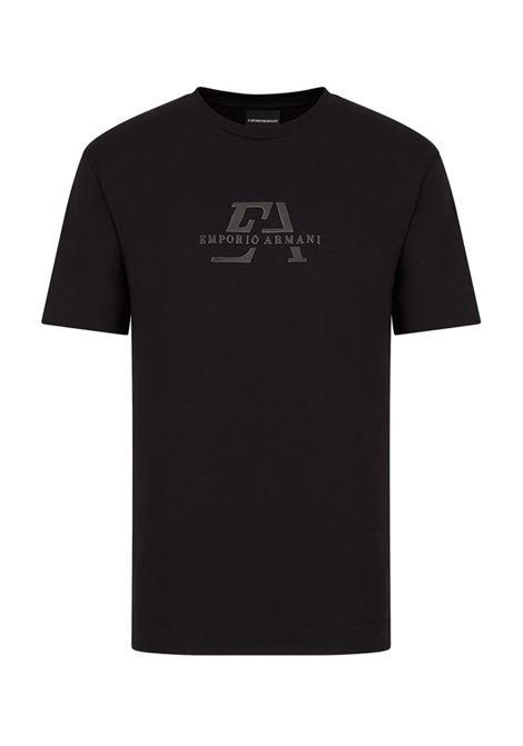 T-SHIRT IN JERSEY EMPORIO ARMANI | T-shirt | 3K1TL71JULZ0999NERO