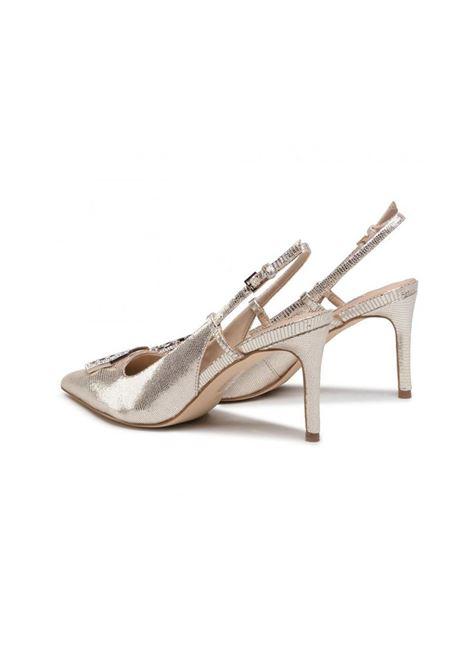 DECOLLETE ALVIRA GUESS | Sandalo | FL5ALVLEA05PLATI