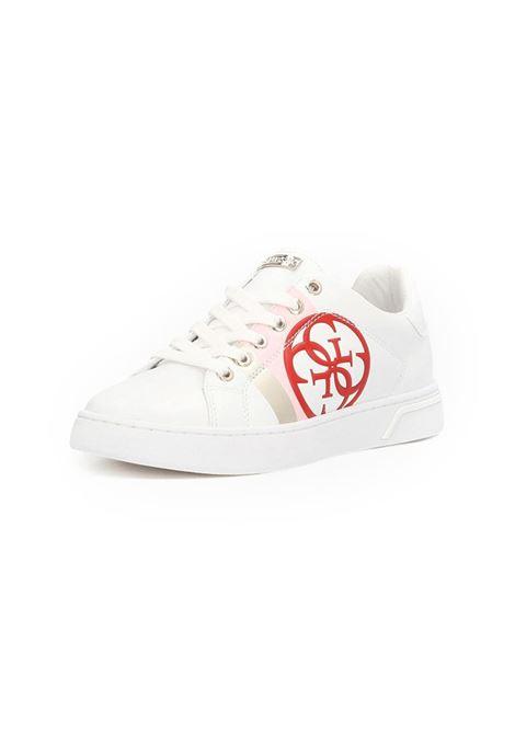 SNEAKER REATA 4G LOGO GUESS | Sneakers | FL5RTAELE12WHIWH
