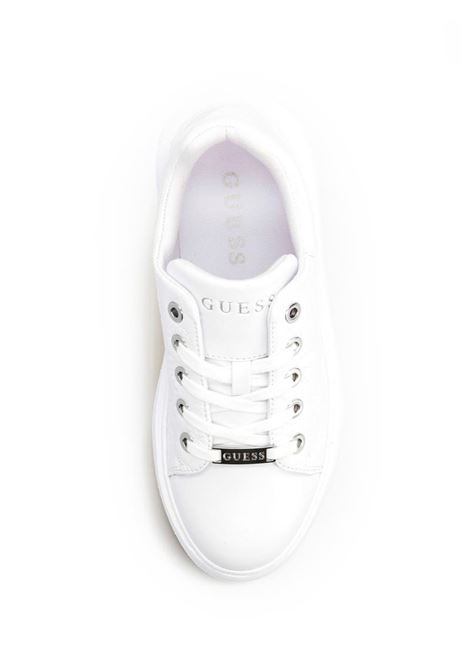 SNEAKER BRADLY LOGO IMPRESSO GUESS | Sneakers | FL6BRDFAL12WHITE