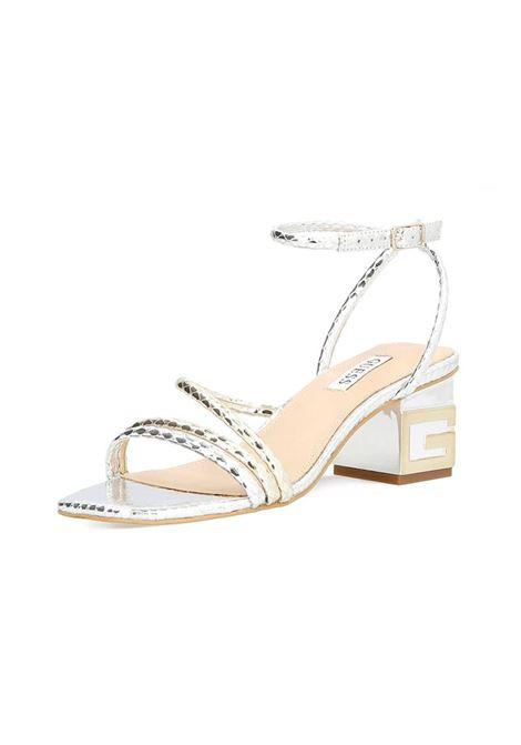 SANDALO MACRE GUESS | Sandalo | FL6MCRPEL03PLATI