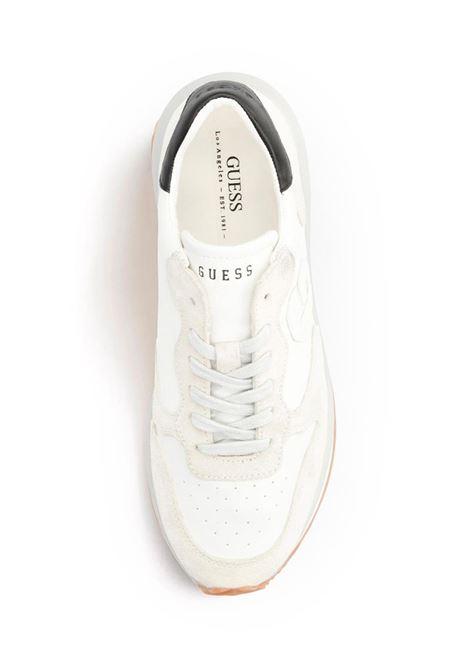SNEAKER BRADLY LOGO IMPRESSO GUESS | Sneakers | FM5RUNLEA12WHITE