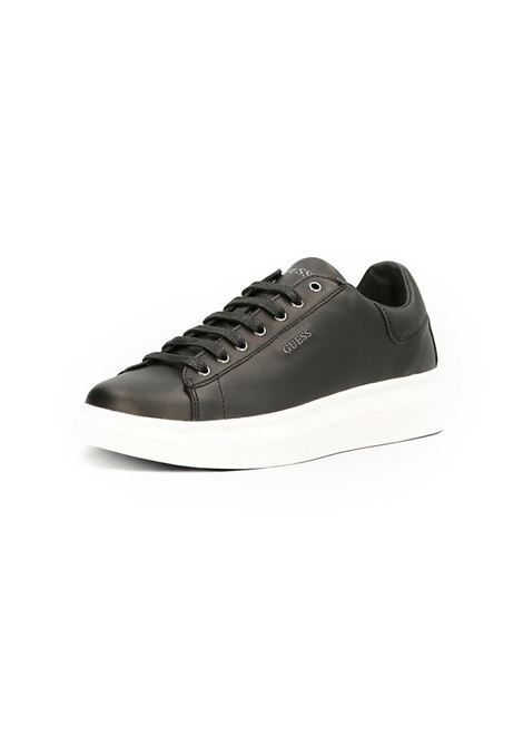 RUNNER SALERNO GUESS | Sneakers | FM5SLRLEA12BLKBLACK