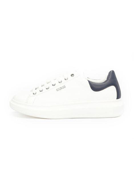 SNEAKER SALERNO GUESS | Sneakers | FM5SLRLEA12WHBLB